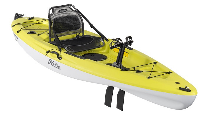 Hobie Mirage Passport 10.5 2021 - seagrass green - angled
